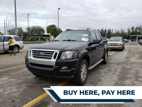 2007 Ford Explorer Sport Trac for sale at Best Auto Deal N Drive in Hollywood FL