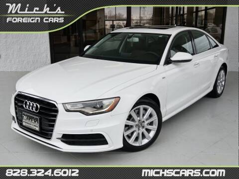 2014 Audi A6 for sale at Mich's Foreign Cars in Hickory NC