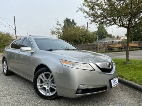 2009 Acura TL for sale at DAILY DEALS AUTO SALES in Seattle WA