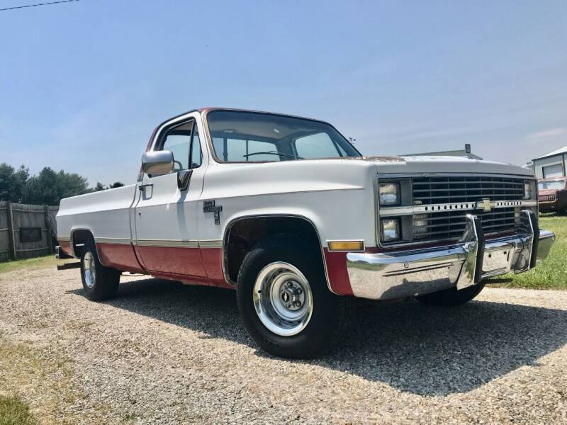1984 Chevrolet C/K 10 Series for sale at 500 CLASSIC AUTO SALES in Knightstown IN