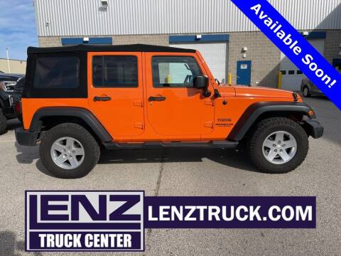 2013 Jeep Wrangler Unlimited for sale at Lenz Auto - Coming Soon in Fond Du Lac WI