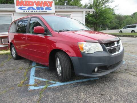 2012 Dodge Grand Caravan for sale at Midway Cars LLC in Indianapolis IN