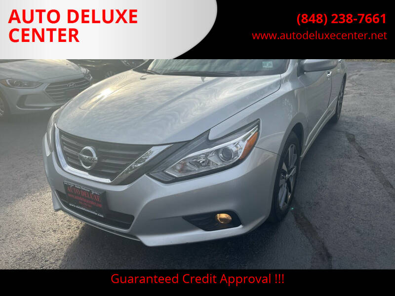 2016 Nissan Altima for sale at AUTO DELUXE CENTER in Toms River NJ