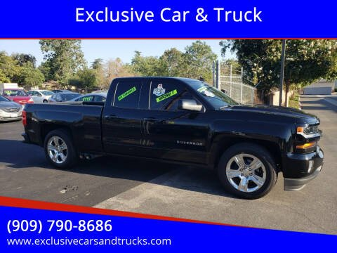 2016 Chevrolet Silverado 1500 for sale at Exclusive Car & Truck in Yucaipa CA