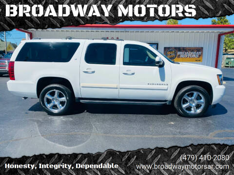 2009 Chevrolet Suburban for sale at BROADWAY MOTORS in Van Buren AR