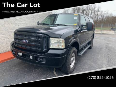 2005 Ford Excursion for sale at The Car Lot in Radcliff KY