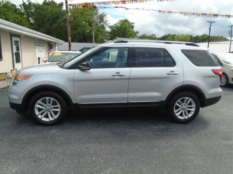 2014 Ford Explorer for sale at River City Auto Sales in Cottage Hills IL