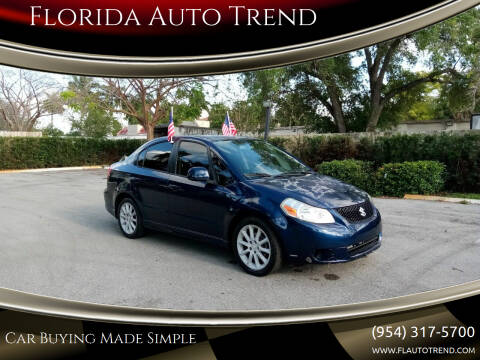 2008 Suzuki SX4 for sale at Florida Auto Trend in Plantation FL