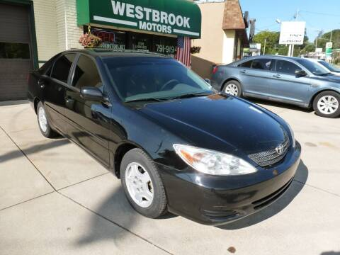 2003 Toyota Camry for sale at Westbrook Motors in Grand Rapids MI