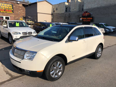 2007 Lincoln MKX for sale at STEEL TOWN PRE OWNED AUTO SALES in Weirton WV