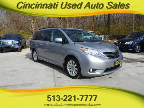 2014 Toyota Sienna for sale at Cincinnati Used Auto Sales in Cincinnati OH