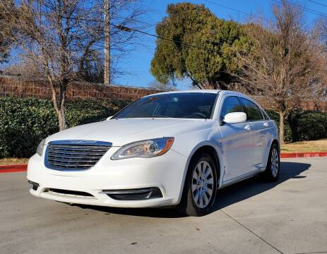 2013 Chrysler 200 for sale at International Auto Sales in Garland TX