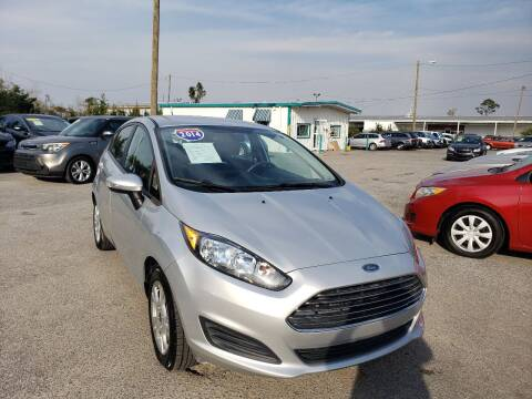 2014 Ford Fiesta for sale at Jamrock Auto Sales of Panama City in Panama City FL
