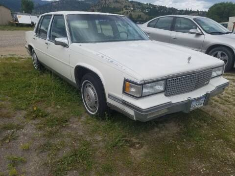 1988 Cadillac DeVille for sale at AUTO BROKER CENTER in Lolo MT