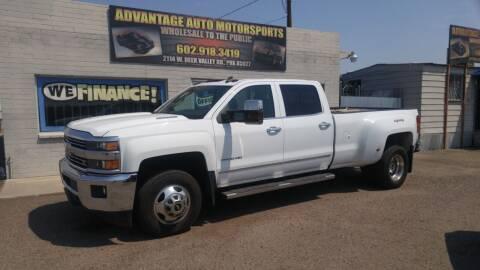 2015 Chevrolet Silverado 3500HD for sale at Advantage Motorsports Plus in Phoenix AZ