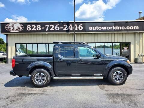 2016 Nissan Frontier for sale at AutoWorld of Lenoir in Lenoir NC
