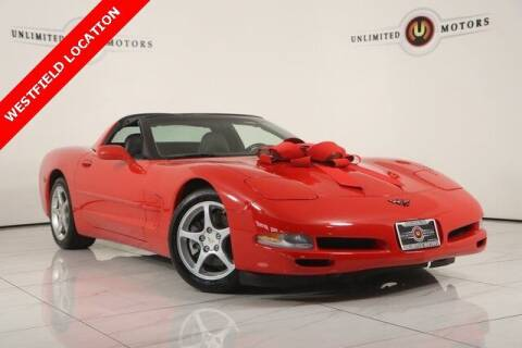 2001 Chevrolet Corvette for sale at INDY'S UNLIMITED MOTORS - UNLIMITED MOTORS in Westfield IN