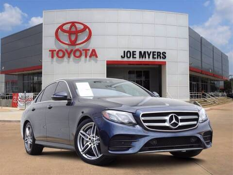 2018 Mercedes-Benz E-Class for sale at Joe Myers Toyota PreOwned in Houston TX