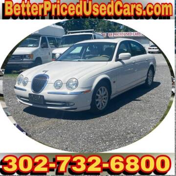 2002 Jaguar S-Type for sale at Better Priced Used Cars in Frankford DE