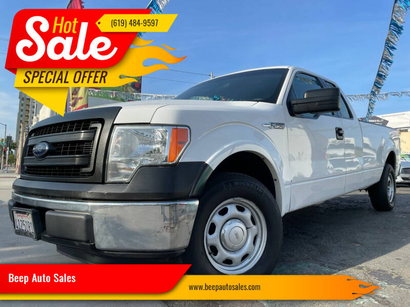2014 Ford F-150 for sale at Beep Auto Sales in National City CA