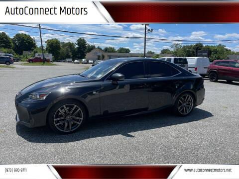 2019 Lexus IS 300 for sale at AutoConnect Motors in Kenvil NJ