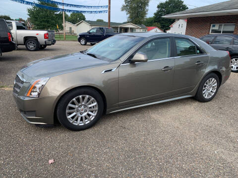 2011 Cadillac CTS for sale at MYERS PRE OWNED AUTOS & POWERSPORTS in Paden City WV