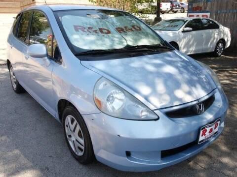 2008 Honda Fit for sale at R & D Motors in Austin TX