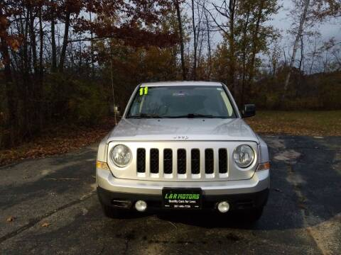 2011 Jeep Patriot for sale at L & R Motors in Greene ME
