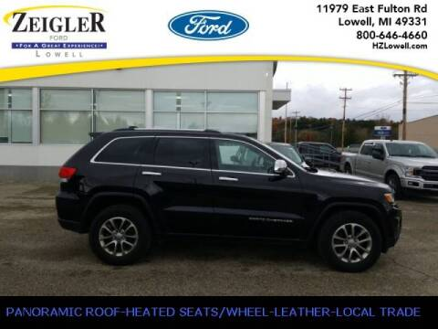 2015 Jeep Grand Cherokee for sale at Zeigler Ford of Plainwell- michael davis in Plainwell MI