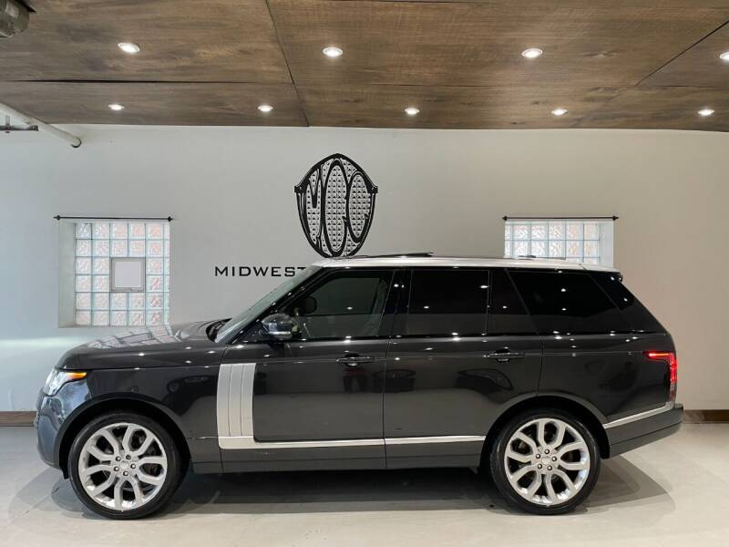 2014 Land Rover Range Rover for sale at Midwest Car Connect in Villa Park IL