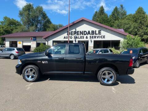 2017 RAM Ram Pickup 1500 for sale at Dependable Auto Sales and Service in Binghamton NY