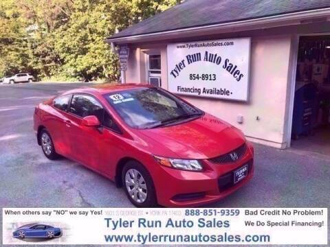 2012 Honda Civic for sale at Tyler Run Auto Sales in York PA