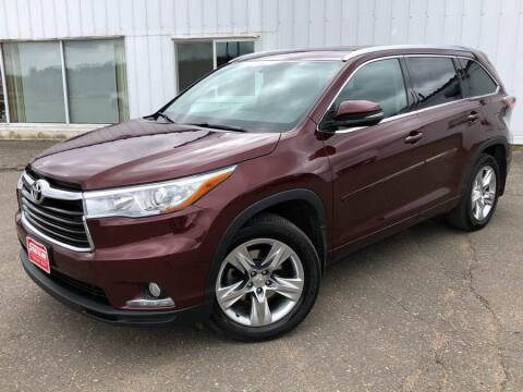 2014 Toyota Highlander for sale at STATELINE CHEVROLET BUICK GMC in Iron River MI