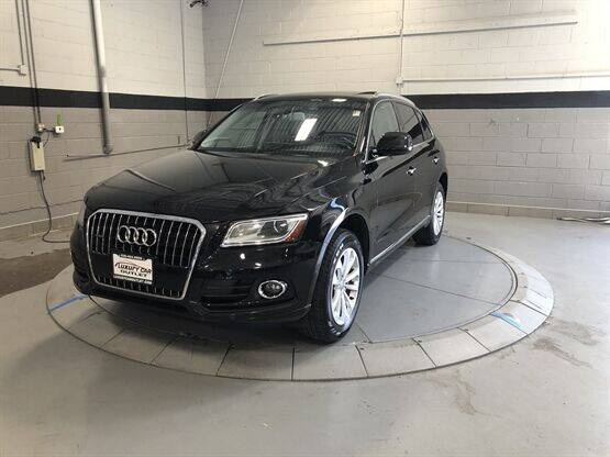 2015 Audi Q5 for sale at Luxury Car Outlet in West Chicago IL
