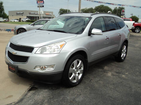 2012 Chevrolet Traverse for sale at J & L Sales LLC in Topeka KS