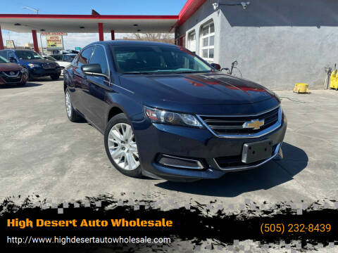2015 Chevrolet Impala for sale at High Desert Auto Wholesale in Albuquerque NM