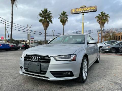 2013 Audi A4 for sale at A MOTORS SALES AND FINANCE - 5630 San Pedro Ave in San Antonio TX