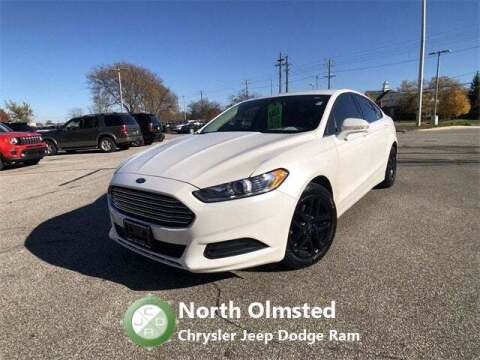 2015 Ford Fusion for sale at North Olmsted Chrysler Jeep Dodge Ram in North Olmsted OH