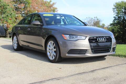 2013 Audi A6 for sale at Harrison Auto Sales in Irwin PA