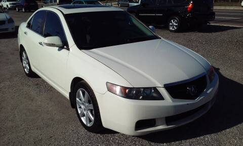2004 Acura TSX for sale at Pinellas Auto Brokers in Saint Petersburg FL