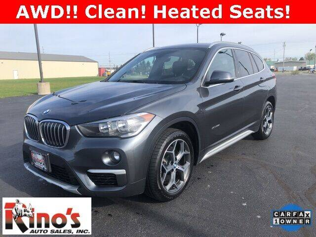 2018 BMW X1 for sale at Rino's Auto Sales in Celina OH