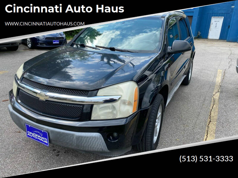 2005 Chevrolet Equinox for sale at Cincinnati Auto Haus in Cincinnati OH