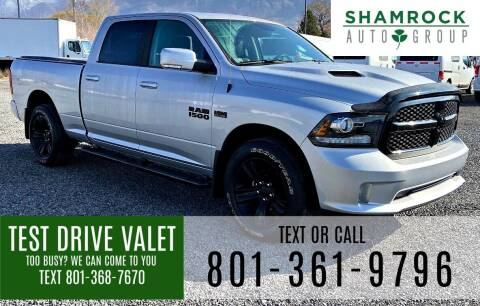 2018 RAM Ram Pickup 1500 for sale at Shamrock Group LLC #1 in Pleasant Grove UT