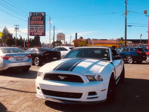 2013 Ford Mustang for sale at City Motors in Hayward CA