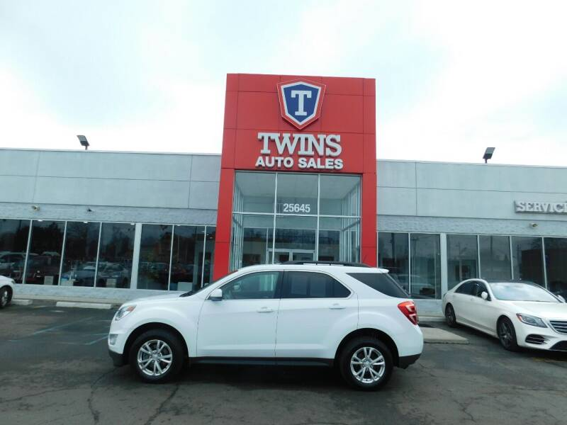 2017 Chevrolet Equinox for sale at Twins Auto Sales Inc Redford 1 in Redford MI