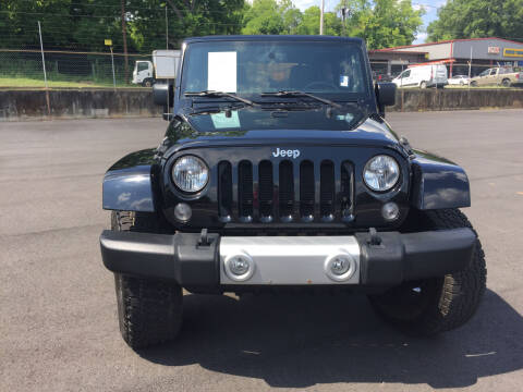2014 Jeep Wrangler Unlimited for sale at Beckham's Used Cars in Milledgeville GA