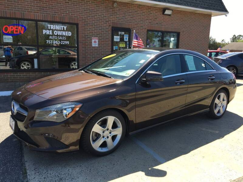 2015 Mercedes-Benz CLA for sale at Bankruptcy Car Financing in Norfolk VA