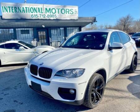2014 BMW X6 for sale at International Motors Inc. in Nashville TN
