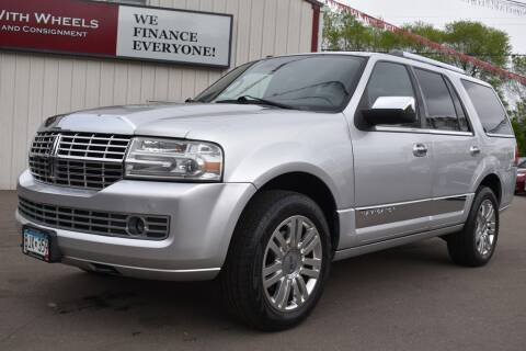2011 Lincoln Navigator for sale at Dealswithwheels in Inver Grove Heights MN