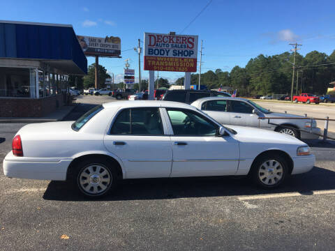 2003 Mercury Grand Marquis for sale at Deckers Auto Sales Inc in Fayetteville NC